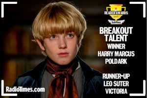radio times readers awards breakout talent Harry Marcus